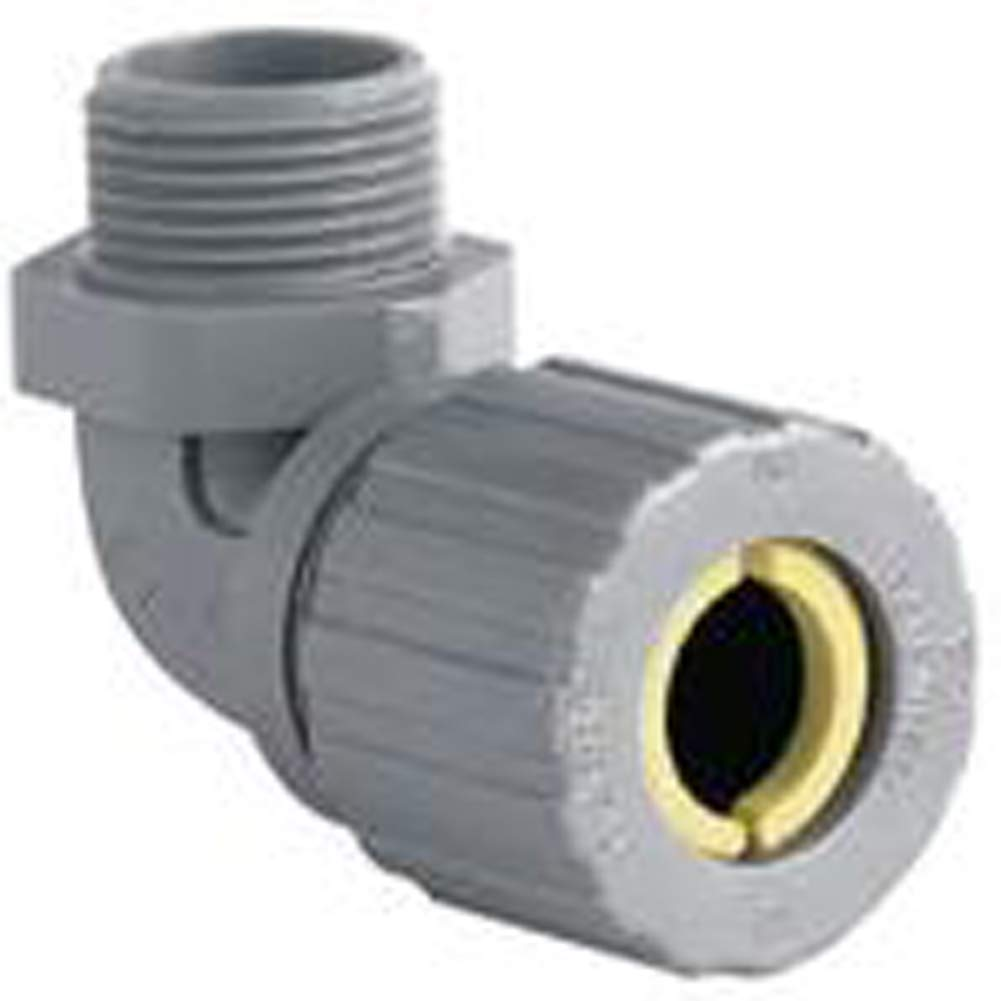 Hubbell-Killark ZN103CR 1/2'', 90 Degree Nylon Cord Grip by Hubbell Killark