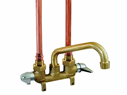 Aqua Plumb 1828010 AB1953 REQST Two-Handle Rough Brass Laundry Tray ...