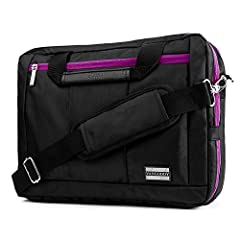 Constructed with high quality materials and heavy duty stitching         3 in 1 Hybrid carrying system, coverts into backpack, briefcase style, and shoulder messenger bag style         Padded straps for comfortable wearing         Ded...