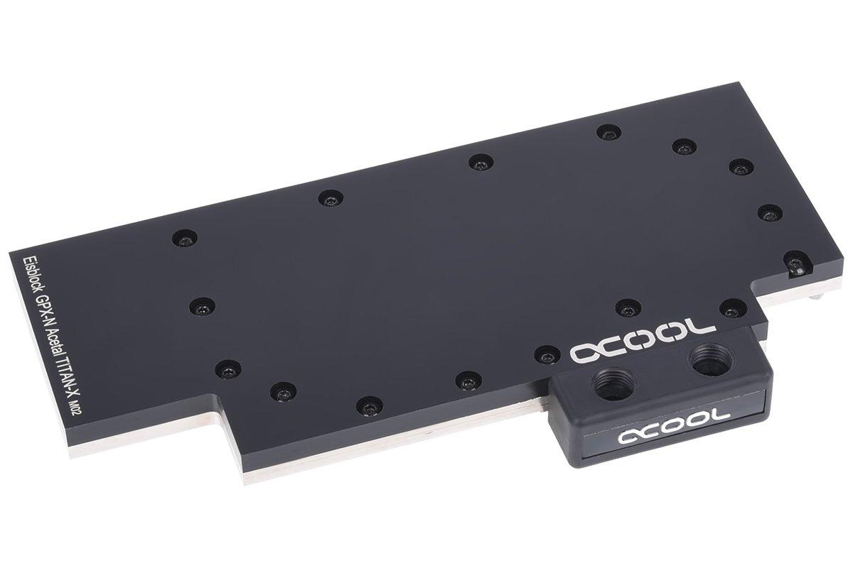 AlphaCool 11569 bloque de hielo GPX de N Acetal NVIDIA ...