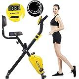 CADENCE Unisex SMARTFIT 100 Faltbares Fitnessfahrrad, Schwarz und ...