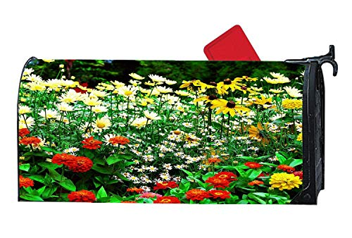 c Mailbox Cover for Standard Sized Mailboxes - Flower Garden ()
