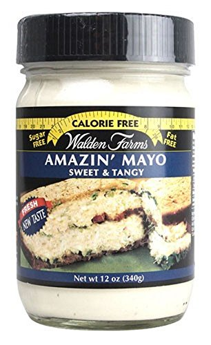 WALDEN FARMS, Mayo, Miracle, Pack of 6, Size 12 OZ - No Artificial Ingredients
