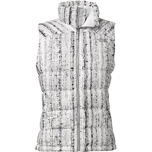 North Face Nuptse 2 Vest - Women's TNF White Birch Print ...