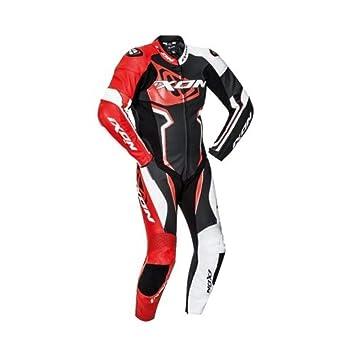 Ixon Falcon negro blanco rojo traje moto: Amazon.es: Coche y ...
