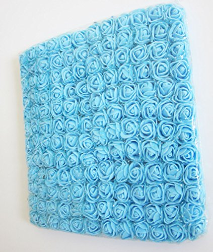 Artfen-Fake-Rose-Flower-Heads-144pcs-Mini-Artificial-Roses-DIY-Wedding-Flowers-Accessories-Make-Bridal-Hair-Clips-Headbands-Dress-1-Inch-Diameter-Bottom-add-Gauze