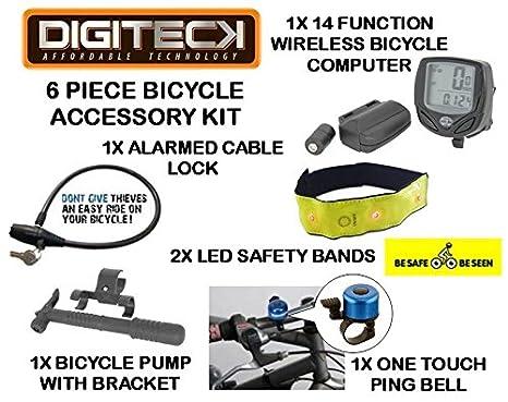 motokit 2 - 6 piezas Kit de accesorios, cable antirrobo para ...