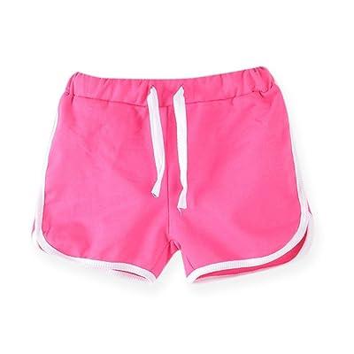 LaoZanA Enfants Garçons Filles Shorts De Piscine Maillot De Bain Short De Bain Short D'Été En Jersey
