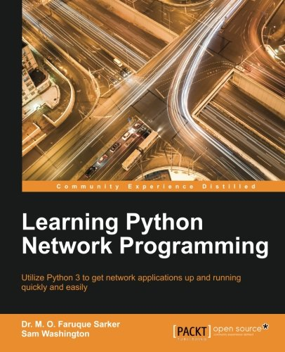 Book cover of Learning Python Network Programming by Dr. M. O. Faruque Sarker