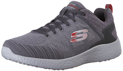 rosso Red burst Charcoal 52016 Skechers 4Eg1wz