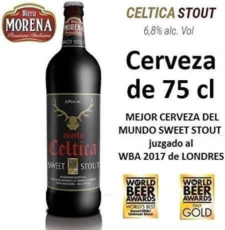 Birra Morena Celtica Stout 6,8% alc vol CL 75 Mejor cerveza del ...