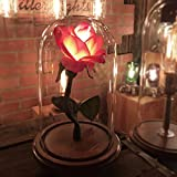 The ''Belle'' - Enchanted rose - Handmade in America - A MillerLights Original