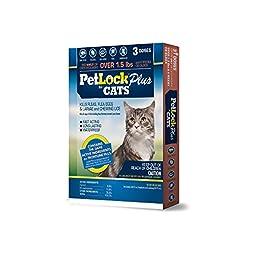 PetLock Plus Cat Flea Treatment, For cats 8 weeks or older