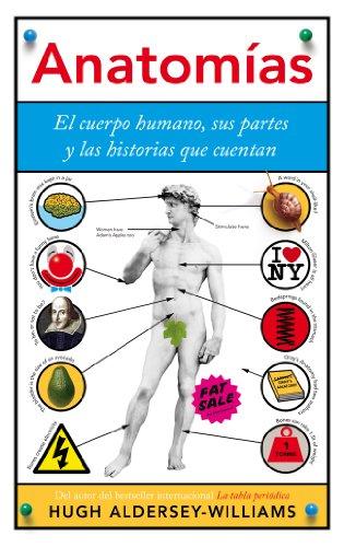 amazon com anatomías el cuerpo humano sus partes y las historias
