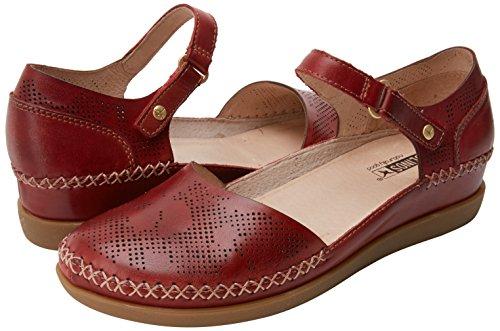 Pulsera sandia Rojo Con Cadaques Sandalia W8k Pikolinos Mujer Para IF8RqaRn