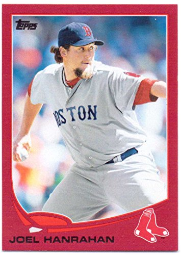 Joel Hanrahan 2013 Topps Target Red Border #555 - Boston Red - Boston Target