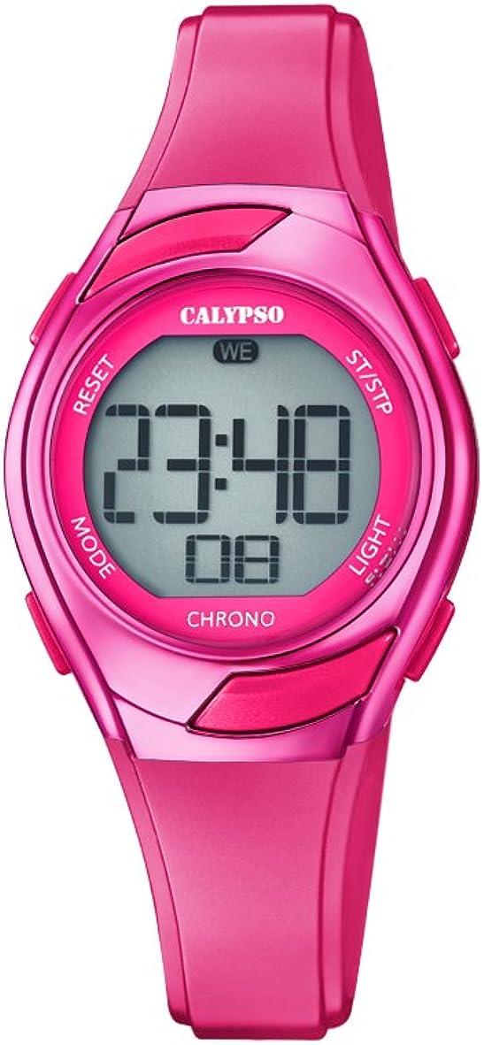 Calypso Reloj Digital para Mujer de Cuarzo con Correa en Plástico K5738/8