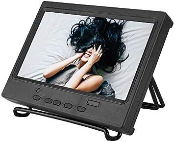 Bewinner 7 Pulgadas 1024 x 600 Monitor Portátil Pantalla Multifunción Compatible con HDMI/VGA/AV Entrada para Raspberry Pi, Pantalla de Automóvil, CCTV, etc 8ms Tiempo de Respuesta(EU pulg): Amazon.es: Electrónica