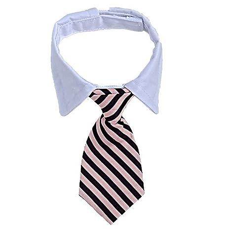 WeiMay. Corbata para Perro patrón de Raya Corbata decoración del ...