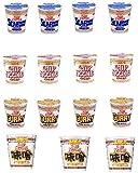 日清食品  カップヌードルミニシリーズ4種類セット(15食入り) ヌードル味 ミニ4個・カレー味4個・シーフード味4個・新発売!味噌味3個