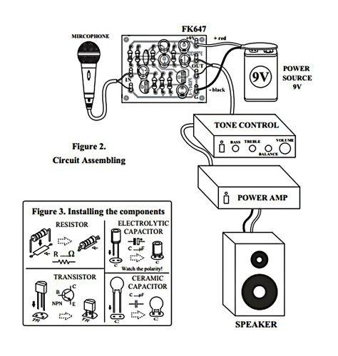 pcb tone control transistor mono technology circuit