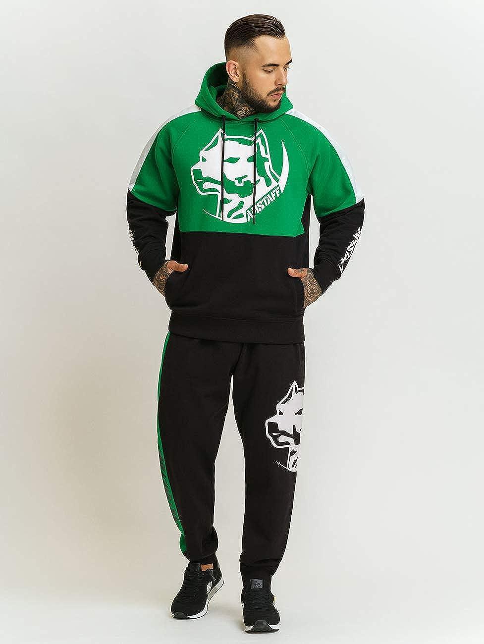 Amstaff Hoodie Dozer Green/Black