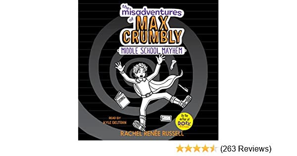 Amazoncom Middle School Mayhem The Misadventures Of Max Crumbly