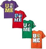 WWE Boys' Little John Cena 4-Pack T-Shirt, Kelly