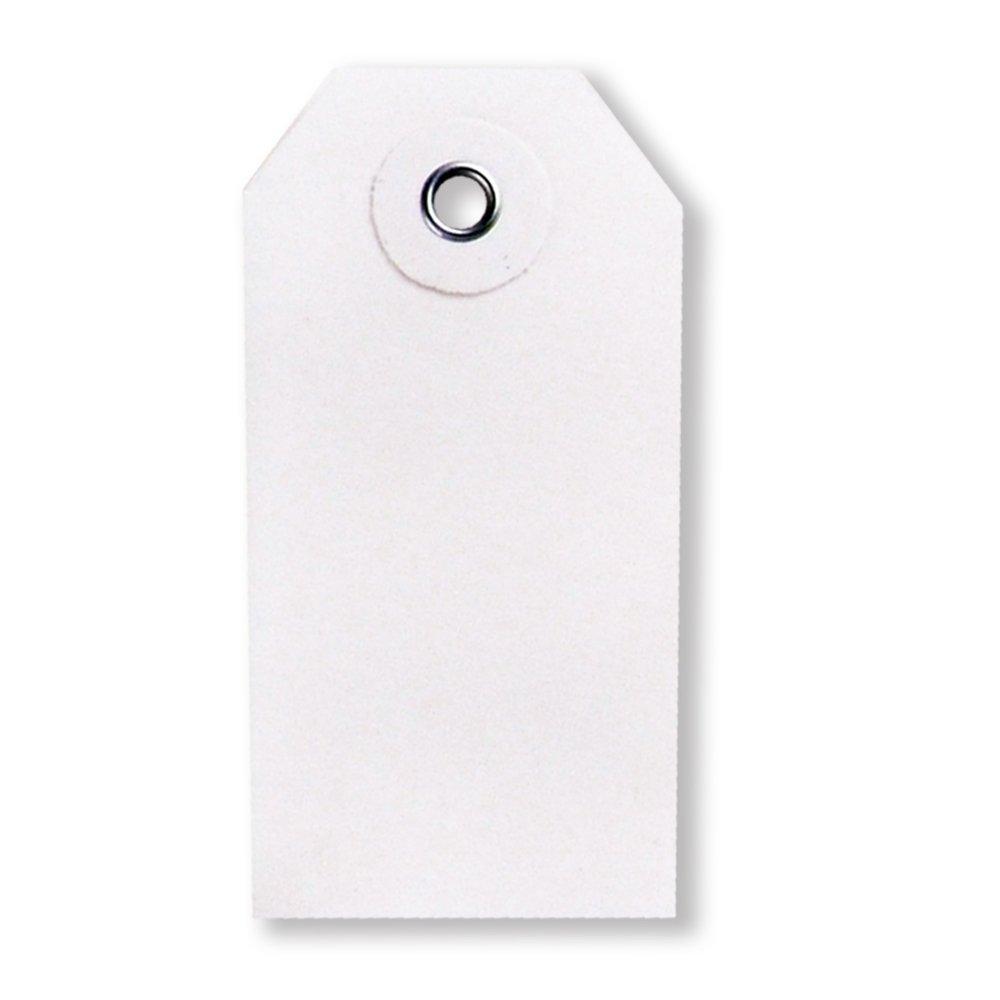 Blank White UltraSource 448513 Tyvek Tags 1.625 W x 3.25 L 1.625 W x 3.25 L Pack of 1000