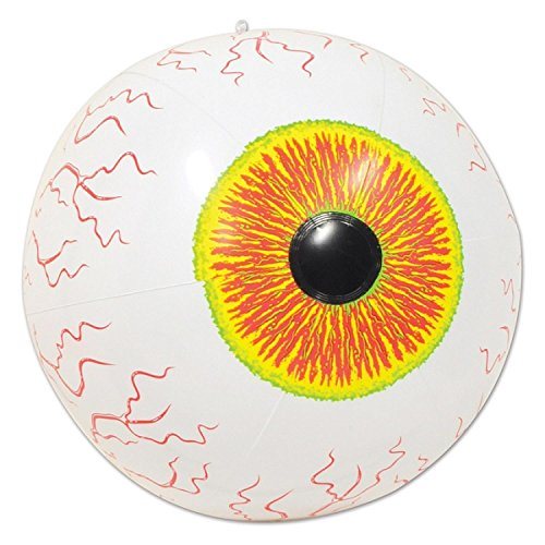 Club Pack of 12 Crazy Eyeball Inflatable Halloween Decoration 16