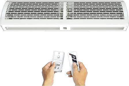ZXMDP Refrigerador de Aire portátil para Puerta, Aire Acondicionado portátil de bajo Consumo, Potente para Toda la casa u Oficina Ventilador de enfriamiento fácil de ...
