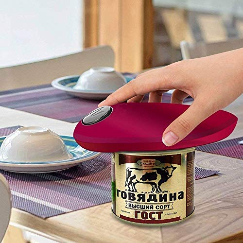 instecho Electric Can Opener, Restaurant can Opener, Smooth Edge Automatic Electric Can Opener! Chef's Best Choice by instecho (Image #5)
