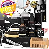 Beard Oil - DOVICH Beard Grooming Care Kit 8 in 1 for Men