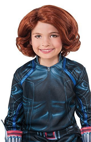[Rubie's Costume Avengers 2 Age of Ultron Child's Black Widow Wig Costume Color: Red Size: One Size Model:] (Make Black Widow Costumes)