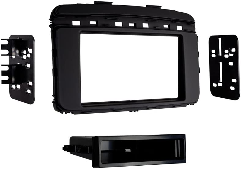 Kia Sorento Metra 99-7366B ISO Single DIN Dash Kit for 2016 Black