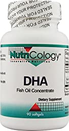 NutriCology DHA Fish Oil Concentrate -- 90 Softgels - 2PC