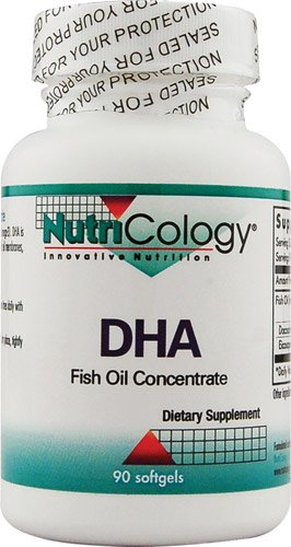 NutriCology DHA Fish Oil Concentrate -- 90 Softgels - 3PC