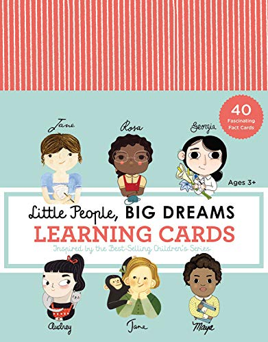 Little People Big Dreams Learning Cards: 40 Fascinating Fact Cards
