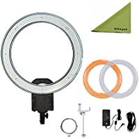 NanGuang CN-R640 19 Outer Photography Video Studio 640 LED CRI 95 5600K Dimmable Ring Light for Makeup & Beauty Photography/Video by Nanguang