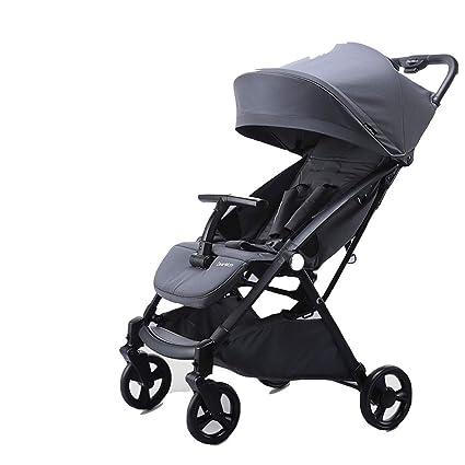 REMTI Sillas de paseo Carro para bebés Siéntese yace de ...