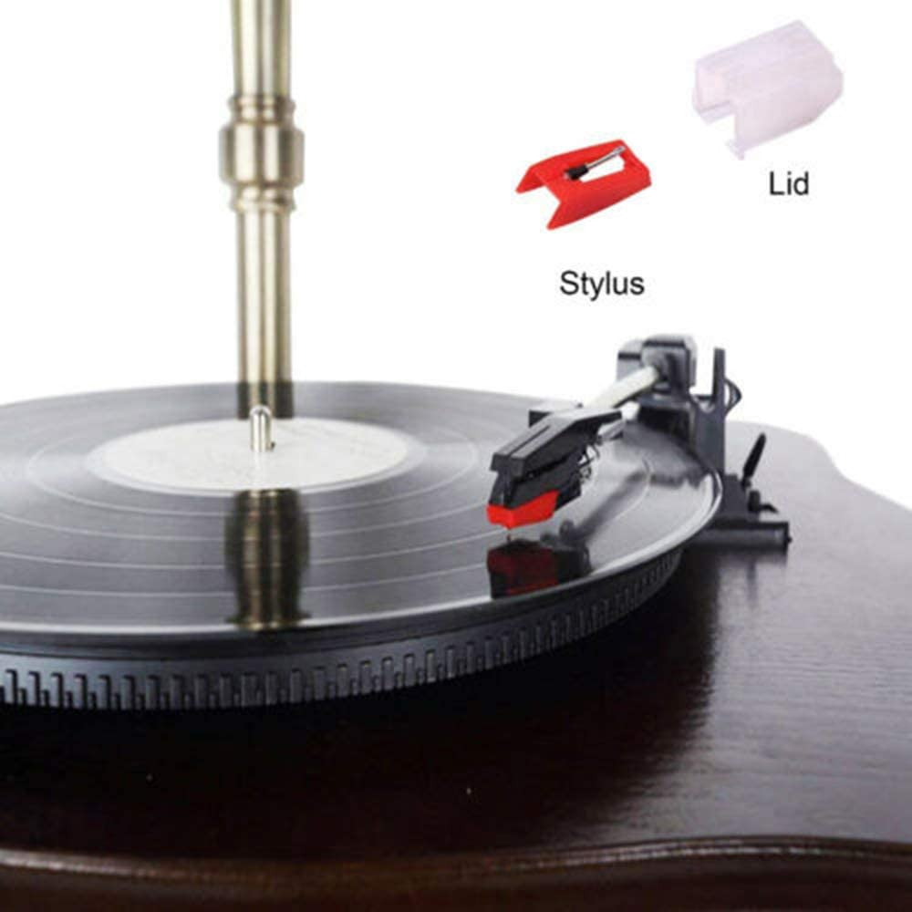 Jensen Zenith - Ion YoungNee Record Player Needle Replacement Auna Pyle Universal Turntable Stylus Cartridge for Crosley Philips Pack of 4