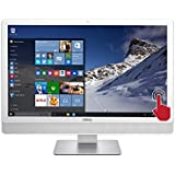 Dell Inspiron io3452 Premium All-in-One Desktop (White Bezel) with 23 Full HD Touchscreen, Intel Pentium N3700 Quad-Core Processor, 8GB DDR3 RAM, 1TB HDD, DVD+/-RW, Windows 10