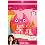 Best American Girl Crafts Books For 9 Year Old Girls - American Girl Crafts Owls Sew and Stuff Kit Review