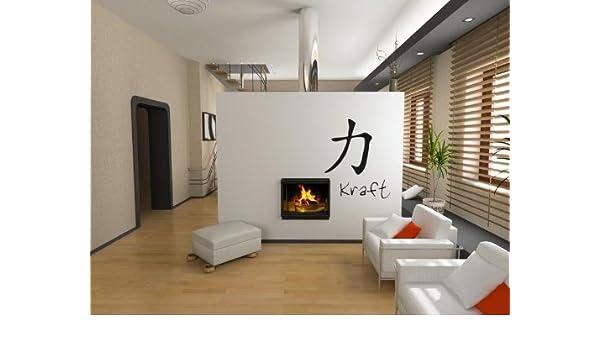 Bilderdepot24 Tatuajes de pared Simbolos chinos (Fuerza ...