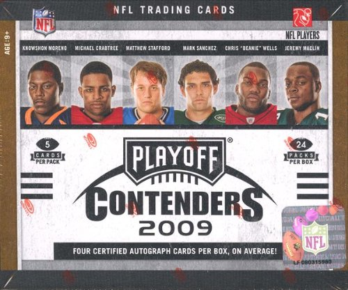 2009 Playoff Contenders Football Hobby Box - NFL Football Cards