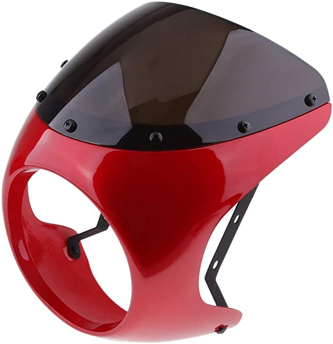 Details about  /Headlight Fairing Cover Universal for Motorcycle Retro Cafe Racer Style