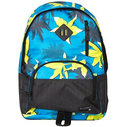 Billabong Men's Atom Backpack, Blue/Lime, One (Atom Backpack Billabong)