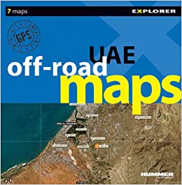 Buy UAE Off Road Map (Off Road Image Maps) Book Online at Low Prices ...