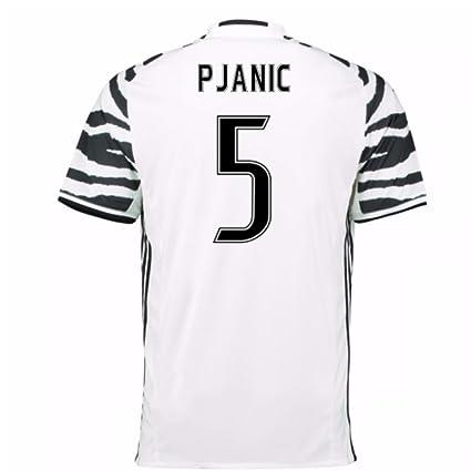e32b2461b Amazon.com   2016-17 Juventus 3rd Football Soccer T-Shirt Jersey (Miralem  Pjanic 5)   Clothing