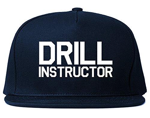Drill Instructor Snapback Hat Cap Navy ()